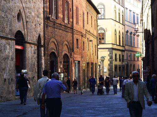 Siena y sus calles medievales