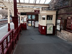 Ticket booth of Keighley station