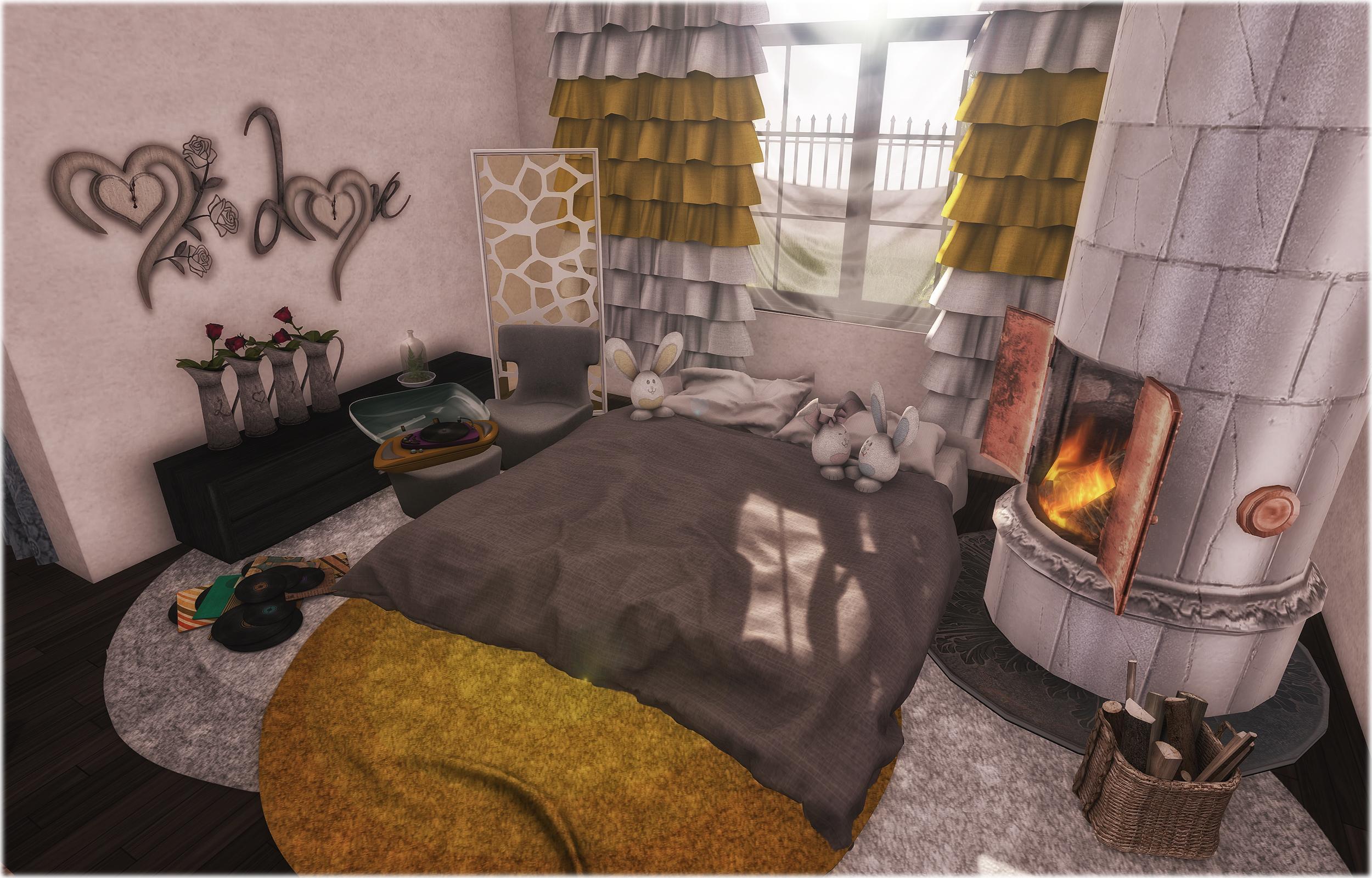 New cozy corner