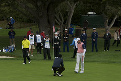 AT&T Pebble Beach 15th hole Pin Detail 2014
