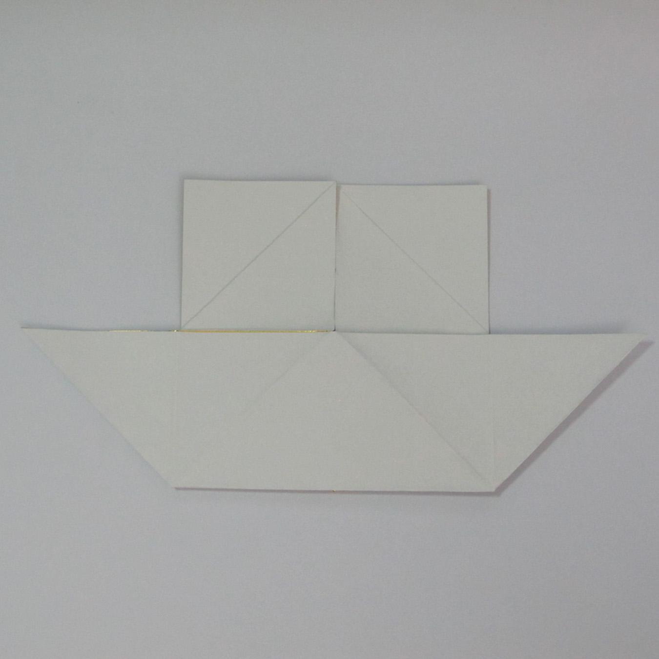 วิธีพับกระดาษเป็นรูปหัวใจติดปีก (Heart Wing Origami) 019