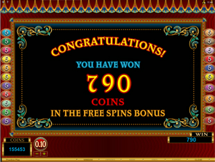 Ruby of the Nile Bonus Game
