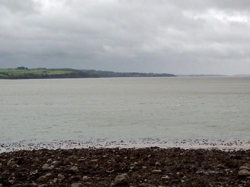 Ireland, Co. Limerick - Mount Trenchard, View to Kildysart, Co. Clare