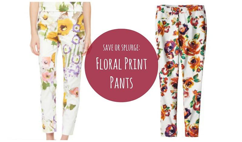 floral print pants Target