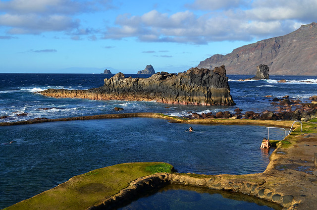 Rock pools, La Maceta, El Golfo, El Hierro