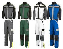 El pantal n de trabajo workteam wf5852 uniforma for Pantalones de trabajo multibolsillos