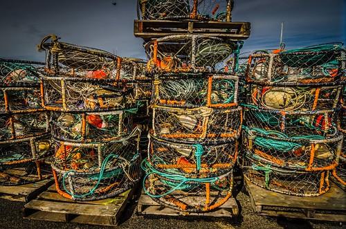 Ilwaco Crab Pots
