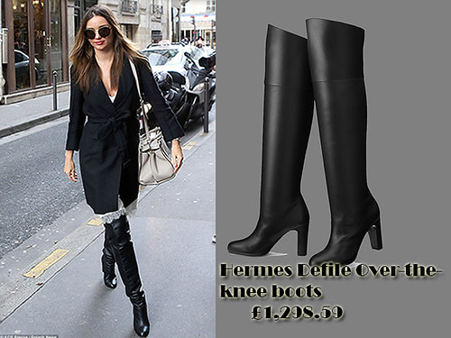 Hermes Defile Over the knee boots