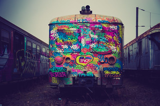 Se faire gribouiller l'arrière train ...