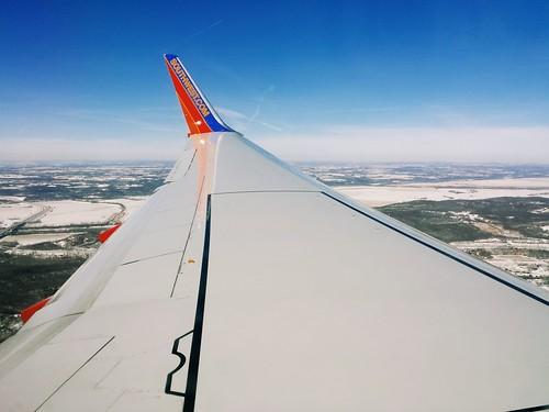 landing in kansas
