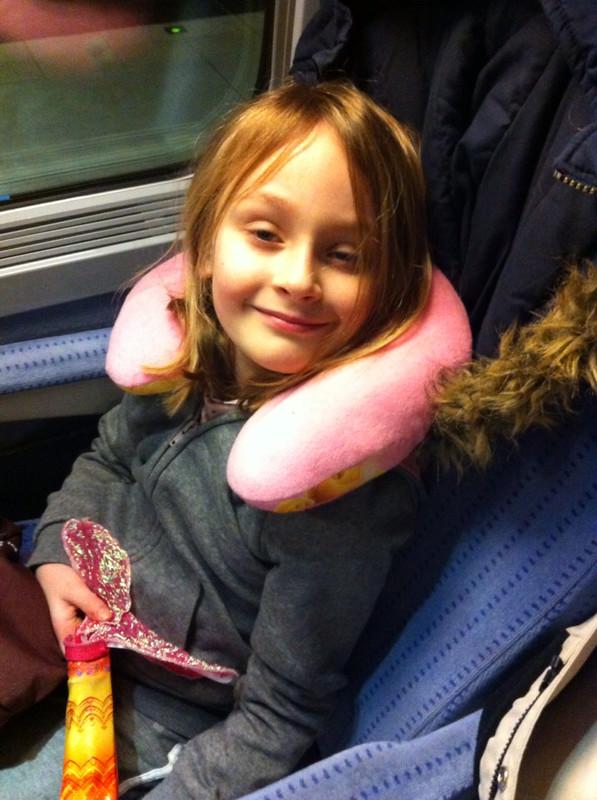 Frikadel dans le TGV
