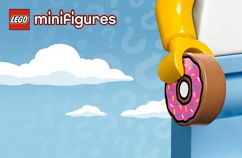 LEGO Simpsons CMF Homer