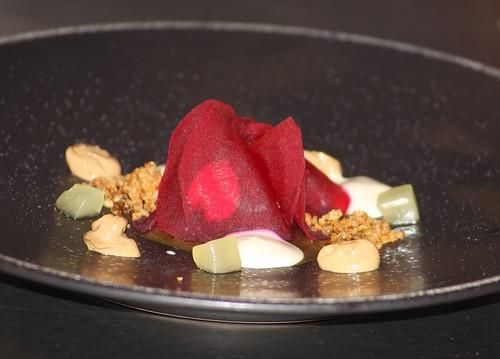 Prato elaborado por Javier Olleros no Fórum Gastronómico Coruña 2014 (Restaurante Culler de p au)