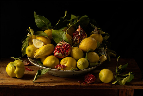 Paulette Tavormina, Lemons & Pomegranates, after J.V.H. (from the series Natura Morta), 2010