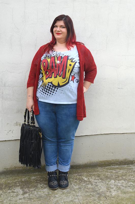 outfit jeans e bordeaux9