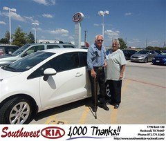#HappyBirthday to Charles Cates from Steven Kravetz at Southwest KIA Rockwall!