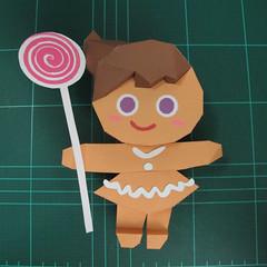 วิธีทำโมเดลกระดาษตุ้กตา คุกกี้สาวผู้ร่าเริง จากเกมส์คุกกี้รัน (LINE Cookie Run – Bright Cookie Papercraft Model) 027
