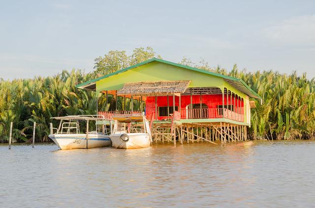 River Cruising at Weston Wetland Park, Kota Kinabalu, Sabah