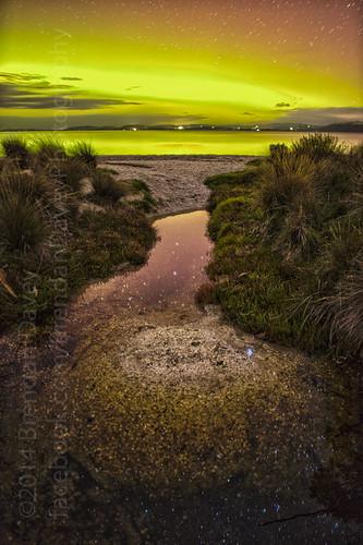 Aurora Australis - Mortimer Bay