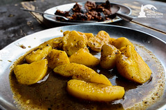 Piro Aloo (Spicy Potato, local Nepali Food)