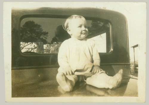 Baby on Car