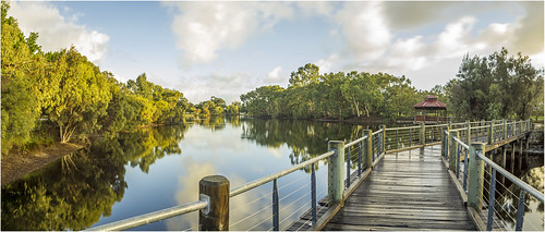longexposure morning trees light sky panorama lake reflection nature water clouds photoshop sunrise landscape dawn scenery sony scenic sigma australia panoramic alpha westernaustralia daybreak lightroom nd400 a65 neutraldensity tomatolake kewdale slta65 stevekphotography