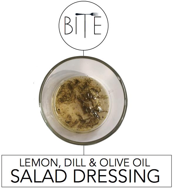 Lemon Dill Olive Oil Salad Dressing + Video