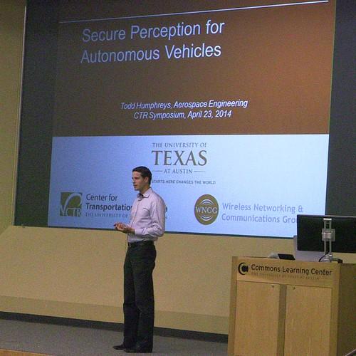 2014 CTR Symposium photo of presentation