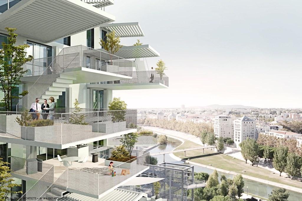SFA+NLA+OXO+RSI: L'ARBRE BLANC, Montpellier