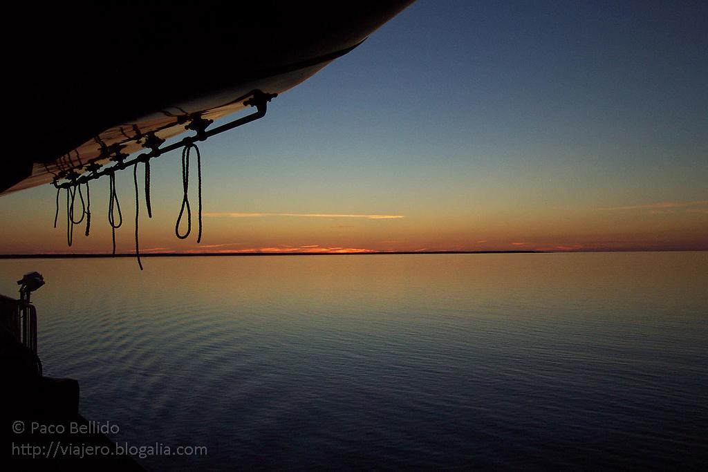 Puesta de Sol en el Báltico. © Paco Bellido. 2005