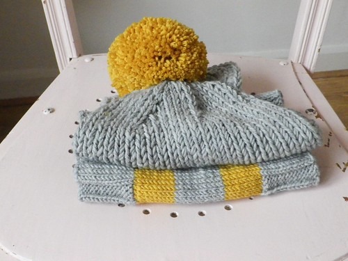 Cosy winter toddler knits