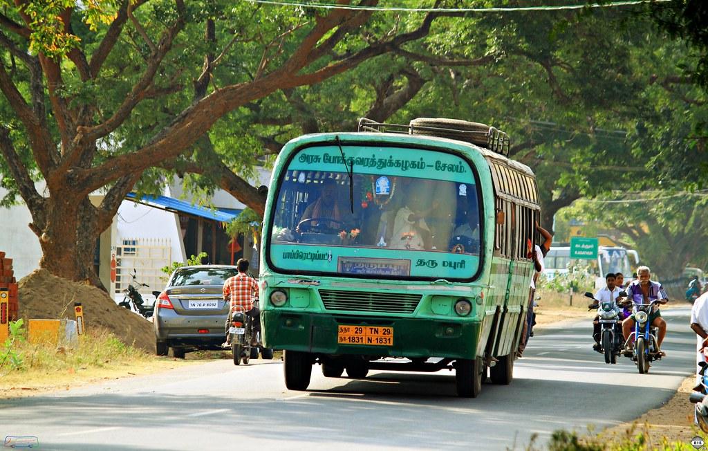 TN29 N 1831 DRP/Bommdi  Pappireddypatti - Dharmapuri via Bommidi,Kadathur
