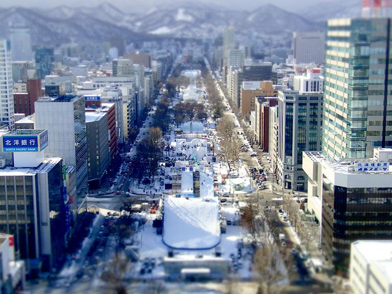 雪国札幌-大通公園