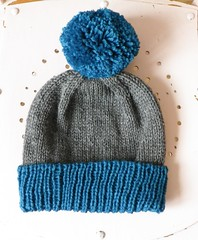 Another classic cuffed hat by Purl Bee