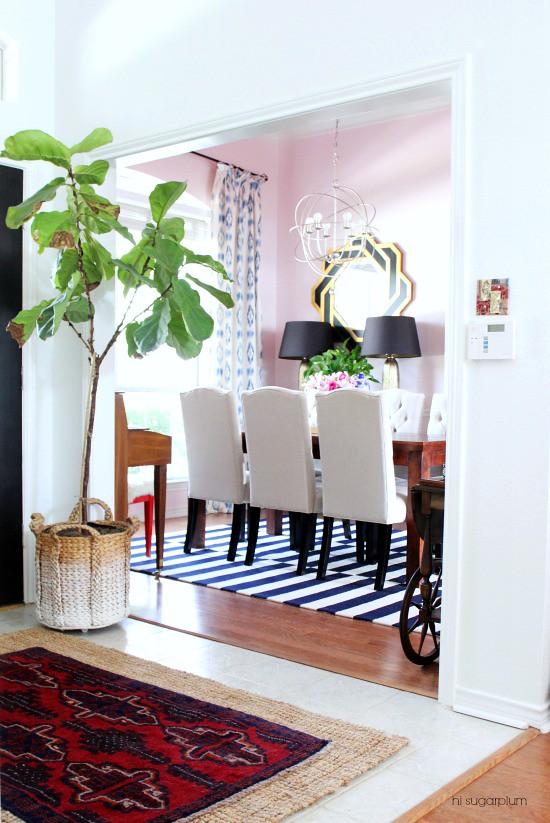 Hi Sugarplum | Dining Room Makeover