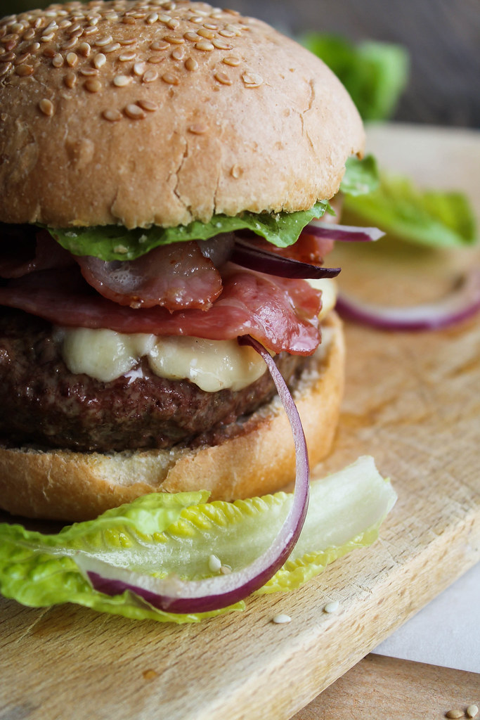 burger bacon maison