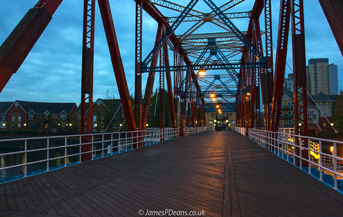 england europe lancashire landscape light manchester nighttimeshot roads timeofday uk ukmediacity unitedkingdom vanishingpoint bridge lights salford digital downloads for licence gb prints sale man who has everything britain james p deans photography