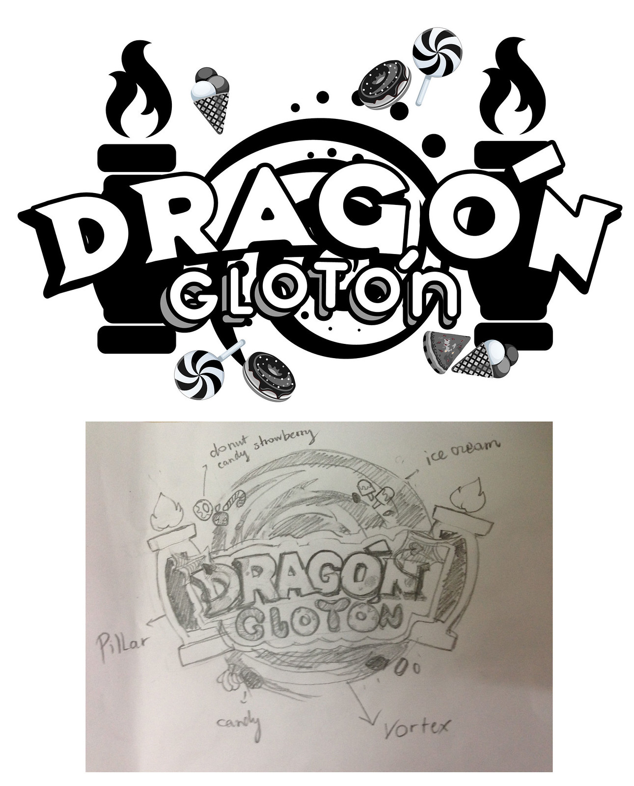 Sketch-Logo-Dragon-Gloton