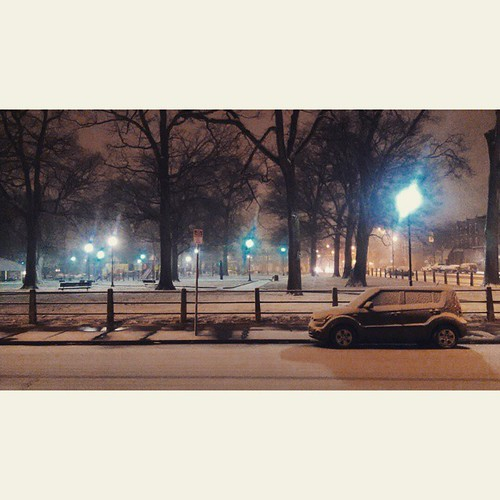 city winter urban usa snow philadelphia night america square unitedstates westphiladelphia pennsylvania pa squareformat philly suv crema westphilly 215 malcolmxpark cityofbrotherlylove gardencourt iphoneography instagram instagramapp uploaded:by=instagram