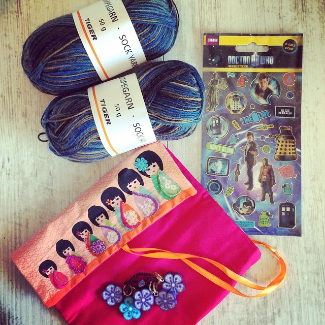 Today's blog post that I'm working on it about knitting care packages with my friend Marseille. It really is the thought that counts!
