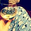 My kind of Friday night - pjs & sparkling wine. Thanks @ndbekah & @cbarbour