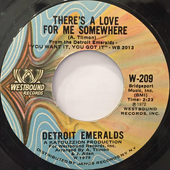 DETROIT EMERALDS:FEEL THE NEED IN ME(LABEL SIDE-B)