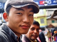Kohima - Young man with flat cap