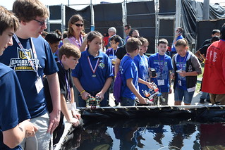 National SeaPerch Challenge 2016 - Pool Competition