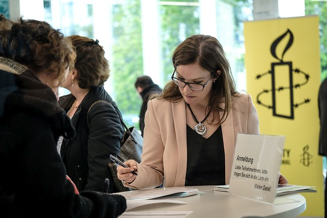 Rebecca Wagner (Heinrich-Böll-Stiftung, Brüssel) Foto: Andi Weiland