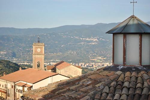 Veduta dal borgo antico di Rende centro storico, Passeggiata  con Emergency 11.06.2016