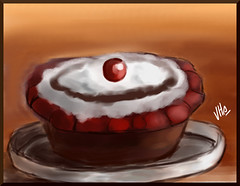 Quick cake painting