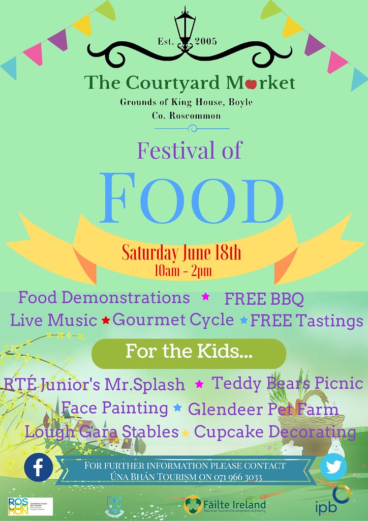 Festival of Food Poster