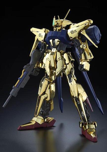MG《機動戰士鋼彈》百式改「金光閃閃」耀眼登場!