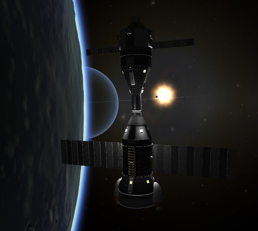 02-07 Kerbin Station Built